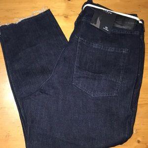 Pacsun Slim Tapered Dark Wash Jeans 36